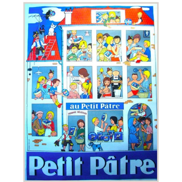 1950s French Art Deco Poster - Petit Patre - Image 1 of 1