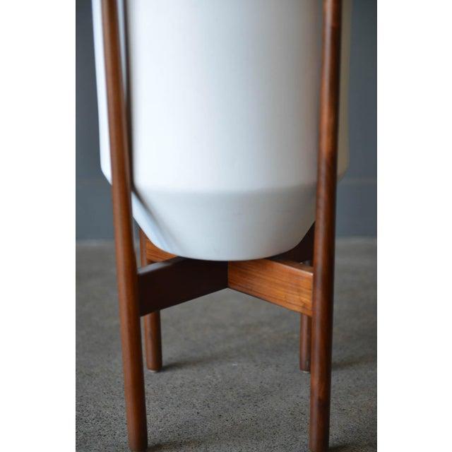 Contemporary 1970s Vintage David Cressey Glazed Ceramic Planter For Sale - Image 3 of 8