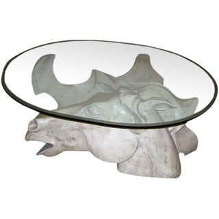 Oversized Horse Head Coffee Table by Romeo Tamanti For Sale