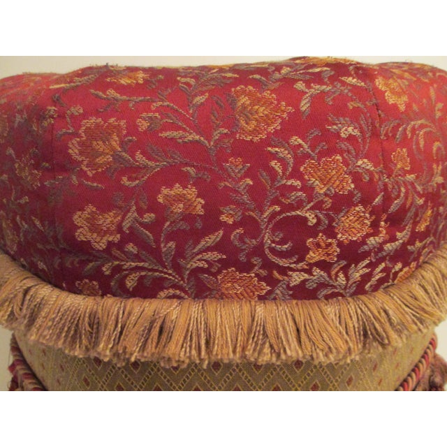 1980s Custom Made Pouf For Sale - Image 5 of 6
