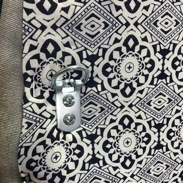 King Size Grey Upholstered Headboard - Image 6 of 6