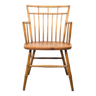 1970s Vintage Curtis Products Farmhouse Chair For Sale