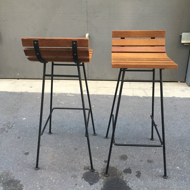Vista of California Barstools - A Pair - Image 5 of 5
