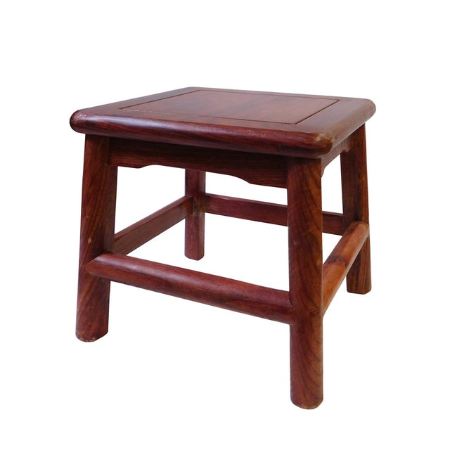 Chinese Mini Stool or Table Stand - Image 4 of 6