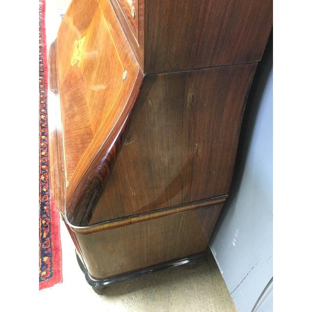 Paolo Buffa Paolo Buffa Italian Mahogany Secretary Desk For Sale - Image 4 of 13