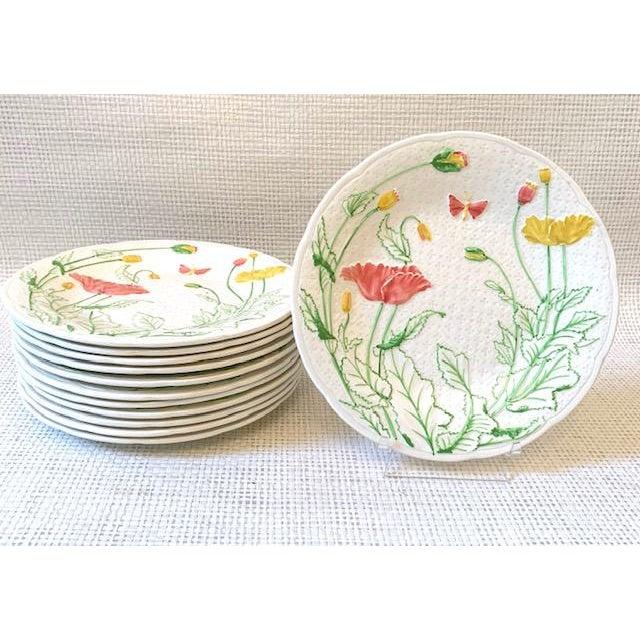 French Gien Desert/Salad Plates - Set of 12 For Sale - Image 9 of 9