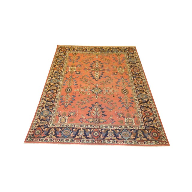 """Antique Persian Sultanabad Rug - 7'5"""" X 10'2"""" - Image 1 of 4"""