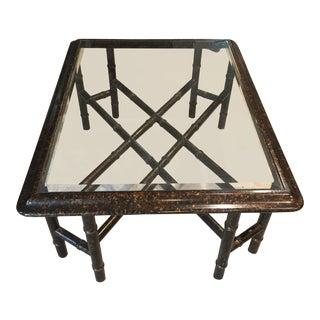 John Widdicomb Oil Spot Coffee Table For Sale