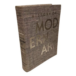 Vintage History of Modern Art Oversized Coffee Table Book For Sale