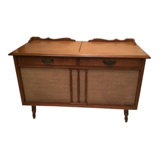 1960s Mid-Century Modern Packard Bell Stereo Console For Sale
