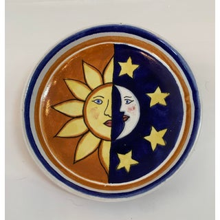 Terracotta Glazed Studio Handcrafted Sun and Moon Dinnerware 23 Pieces Preview