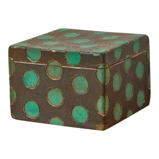 Matthew Ward Studio Ceramic Box For Sale