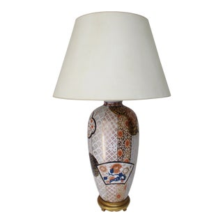 Chinoiserie Porcelain Table Lamp For Sale