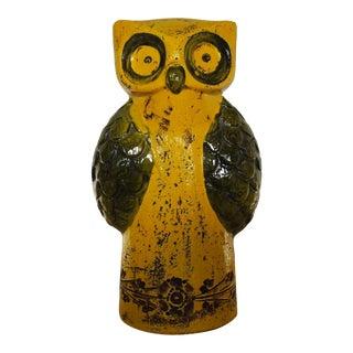 Vintage Rosenthal Netter Bitossi Owl Figure For Sale