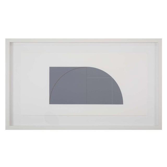 Screen Print Contemporay Portfolio of Prints-Multiple Panel Print by Robert Mangold For Sale - Image 7 of 11