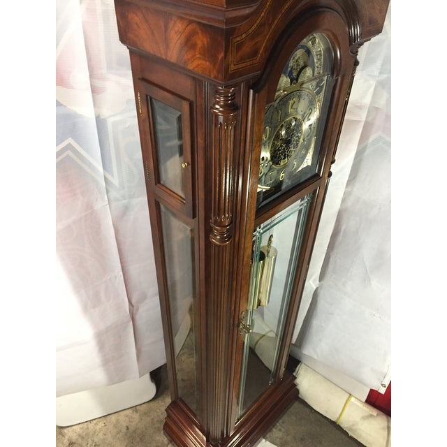 Sligh-Lowry Furniture Co. Sligh Grandfather Clock For Sale - Image 4 of 11
