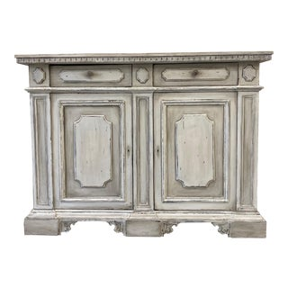 Italian Painted Buffet Cabinet For Sale