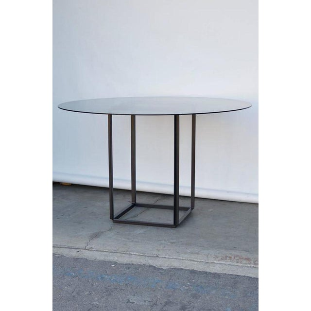 """Modern Contemporary Design Frères The """"Cuboid"""" Minimalist Center or Breakfast Table For Sale - Image 3 of 7"""