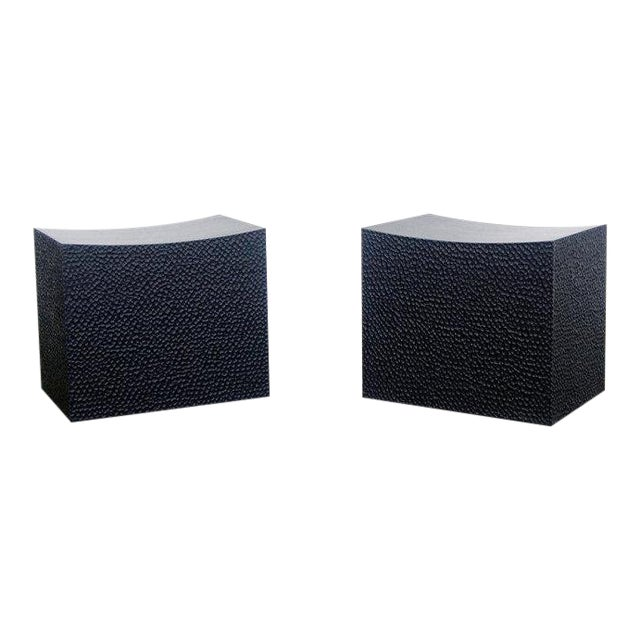 Block Stools by John Eric Byers For Sale