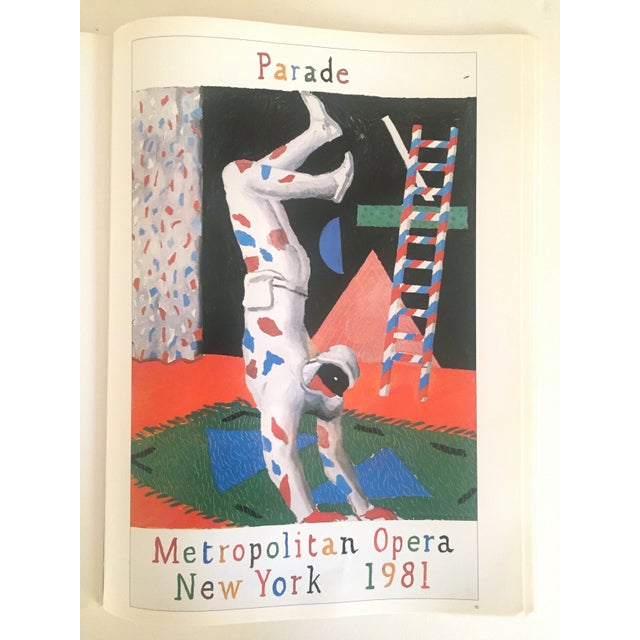 """Vintage 1987 """"Hockney Posters"""" Rare 1st Edtn Extra Large Collector's Art Book For Sale - Image 5 of 11"""