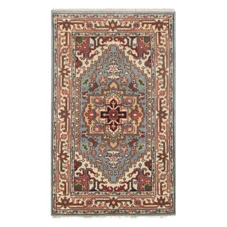 Pasargad Persian Serapi Design Hand Knotted Rug - 3' X 5' For Sale