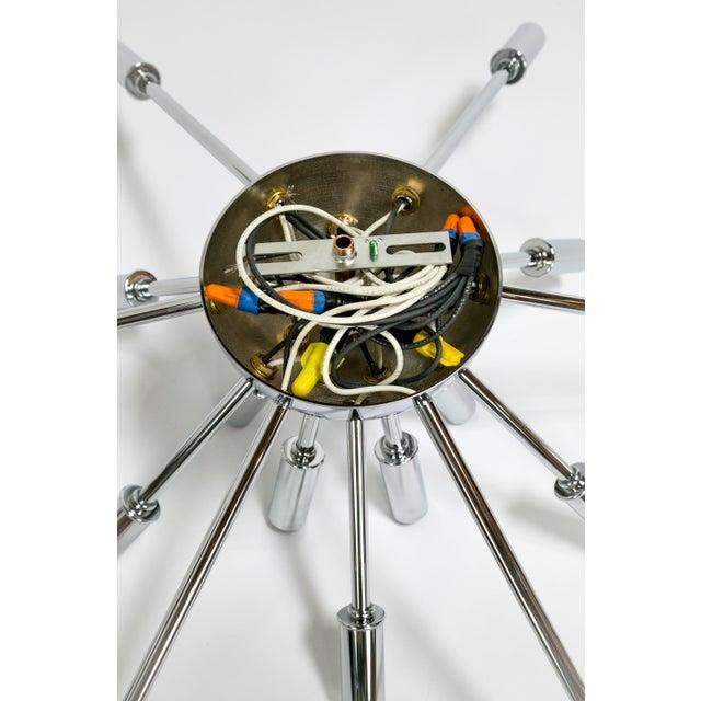 Sputnik Flush Mount / Sconce in Brass or Bronze Finish For Sale - Image 9 of 9