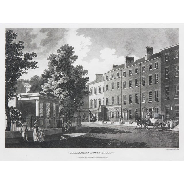 Engraved Views of Dublin Ireland by James Malton - Set of 25 For Sale In Boston - Image 6 of 13