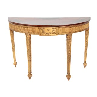 18th Century George III Adam Pier Table For Sale