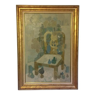Blue Chair by Brodzinsky For Sale