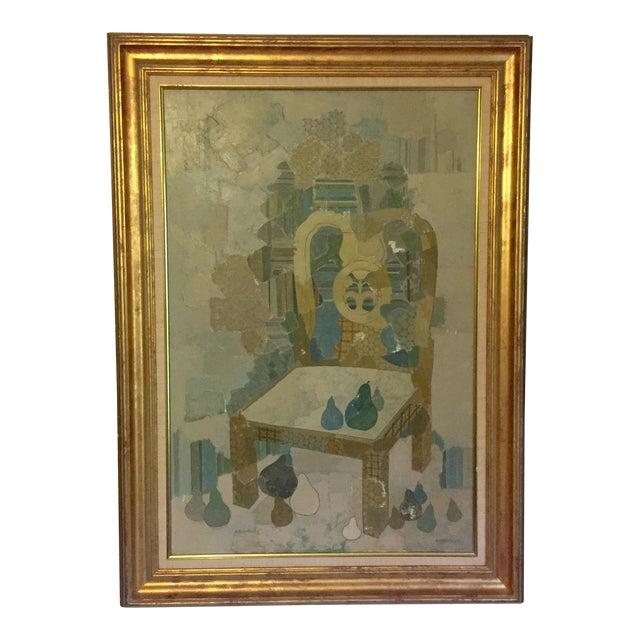 Blue Chair by Brodzinsky For Sale
