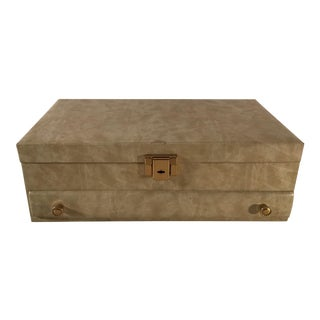 Mid-20th Century Regency Buxton Jewelry Box For Sale