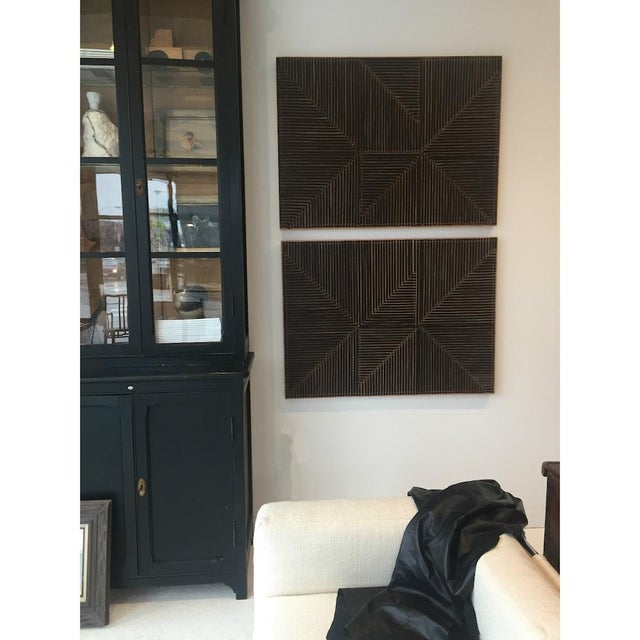 Mixed media leather panels created by Chicago artist Michelle Peterson-Albandoz. Michelle has created individual works and...