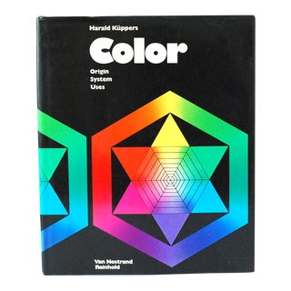 """1973 Küppers """"Color: Origin, System, Uses"""" Art Book, First Edition For Sale"""