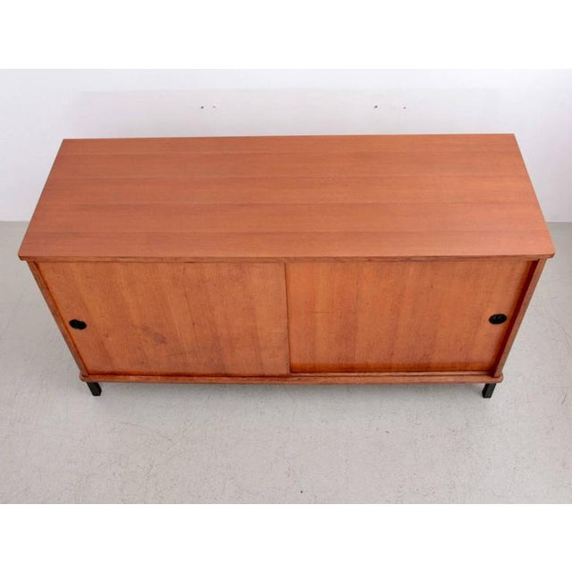 Excellent French Mid Century Sideboard In Oak Decaso