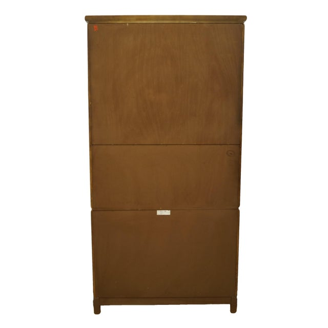Vintage Thomasville Furniture Mystique II Asian Style Armoire For Sale - Image 9 of 12