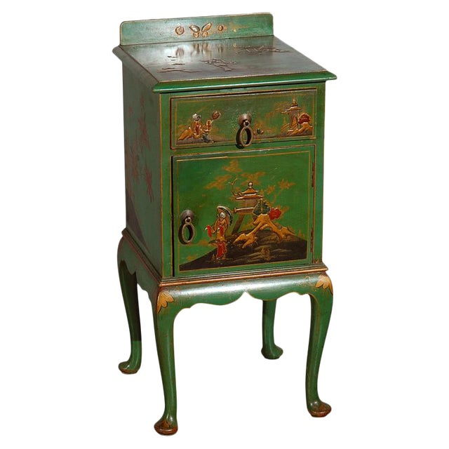 Chinoiserie Decorated Night Stand For Sale