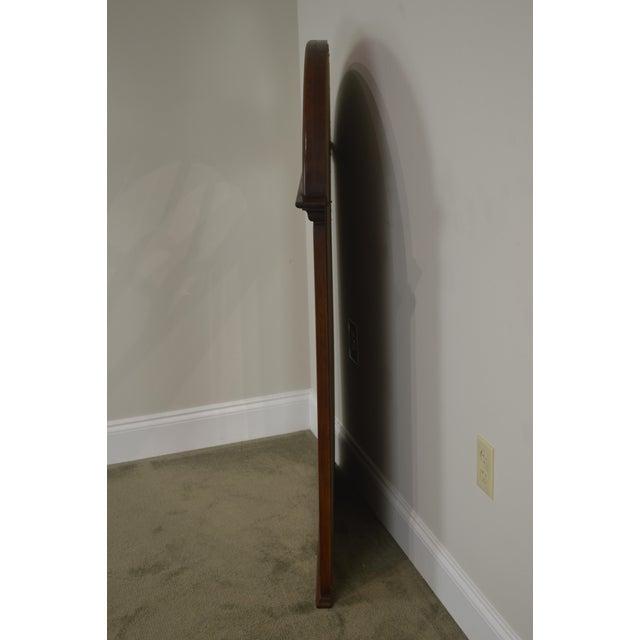 Lexington Cherry Arch Top Beveled Mirror For Sale In Philadelphia - Image 6 of 13