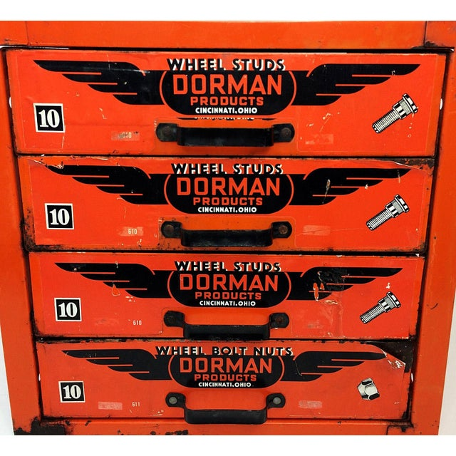 Industrial Industrial Dorman Products Bin Drawer Cabinet For Sale - Image 3 of 10