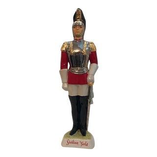 """Vintage Sicilian """"Italian Royal Guard"""" Decanter"""