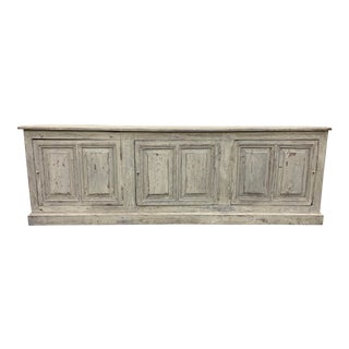 French Antique Painted Enfilade Credenza - 19th C For Sale