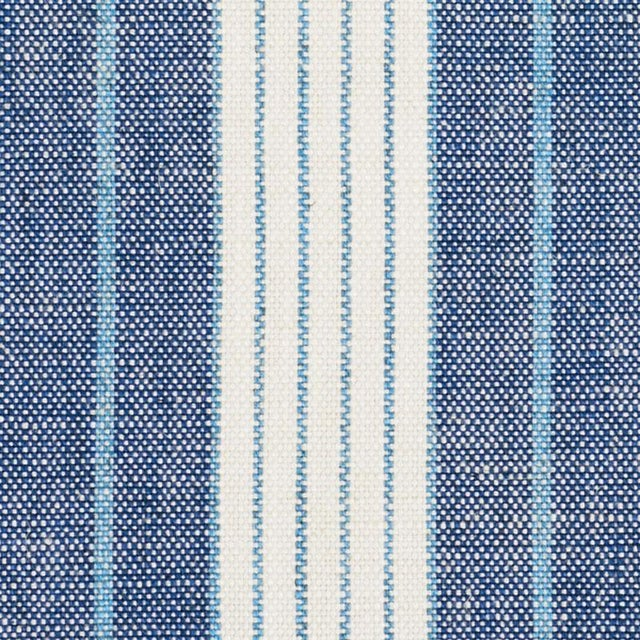 Woven in Italy, this versatile, multi-width stripe is a stylish and durable option for upholstery and a great foundation...