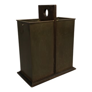 Italian Brass Umbrella Stand For Sale
