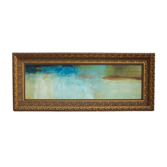 Mid-Century Abstract Oil Painting - Image 2 of 7