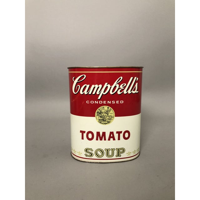 Campbell's Waste Paper Basket For Sale In New York - Image 6 of 6