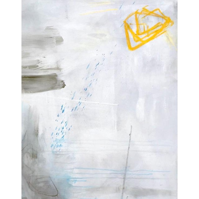 """""""Clearing"""" is a large lyrical abstract expressionist oil painting on linen canvas by top selling Chairish artist, Trixie..."""
