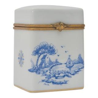 Vintage Mid-Century Limoges Porcelain Box