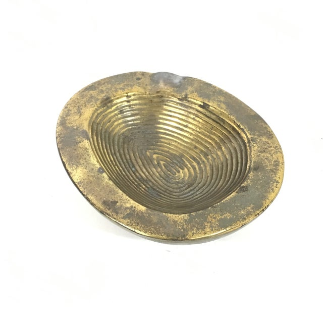 Ben Seibel Thumbprint Ashtray For Sale - Image 9 of 13