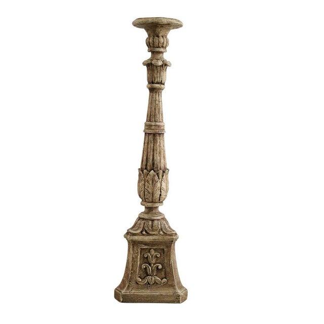 Plaster Carved Pedestal - Image 2 of 4