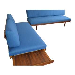 Ingmar Relling Scandinavian Modern Teak Sofa / Daybed Set For Sale