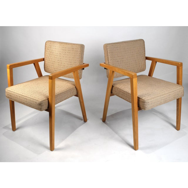 Franco Albini Set of Ten Fully Restored Vintage Franco Albini Dining Chairs Produced by Knoll For Sale - Image 4 of 10